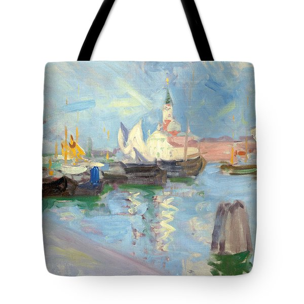 San Giorgio Maggiore  Venice Tote Bag by Francis Campbell Boileau Cadell