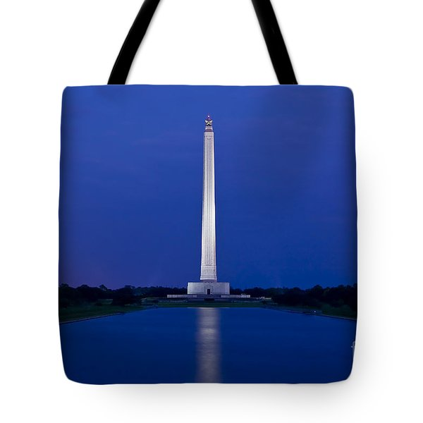 San Jacinto Monument Tote Bag