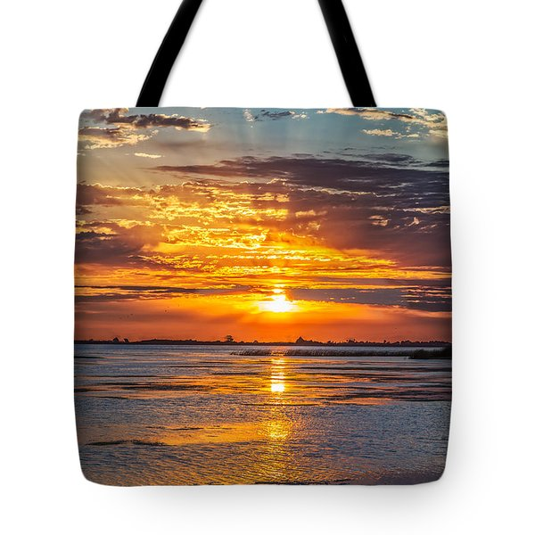 San Joaquin Sunrise Tote Bag