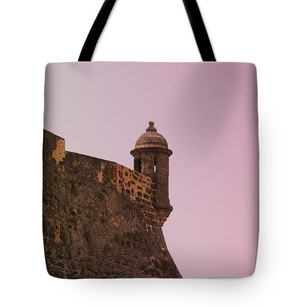 San Juan - City Lookout Post Tote Bag by Richard Reeve