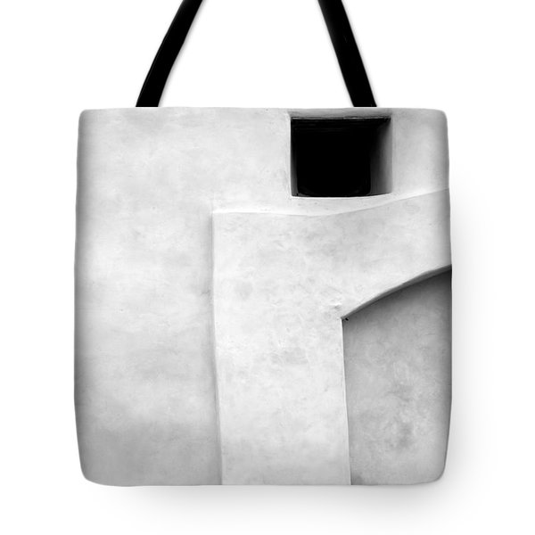 San Juan Wall Abstract 1 Bw Tote Bag