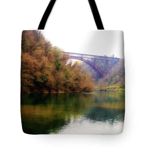 San Michele Bridge N.1 Tote Bag
