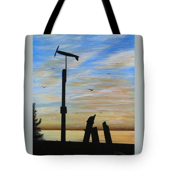 San Onofre Sunrise Tote Bag