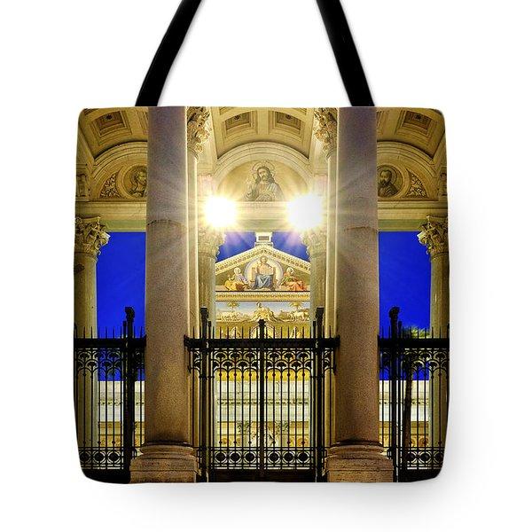 San Paolo Fuori Le Mura Tote Bag