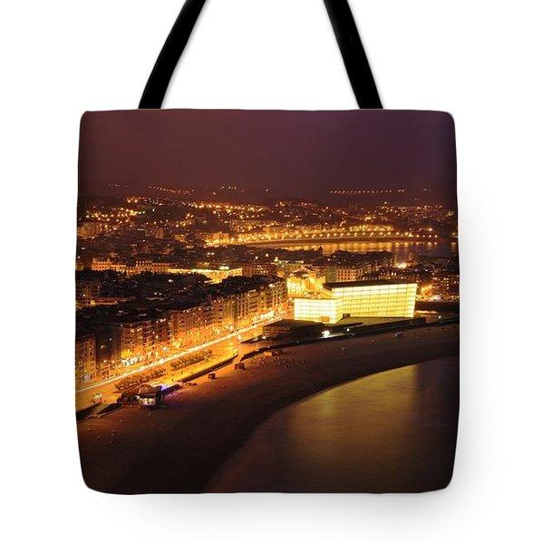 Tote Bag featuring the photograph San Sebastian 25 by Mariusz Czajkowski