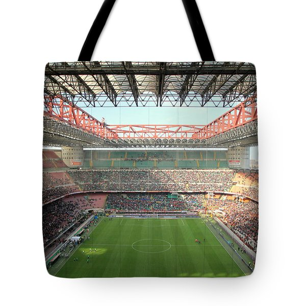 San Siro Stadium Tote Bag
