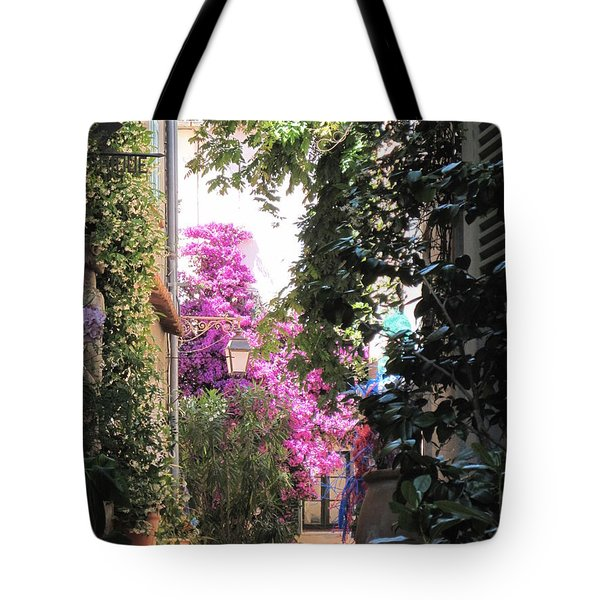 St Tropez Tote Bag by HEVi FineArt