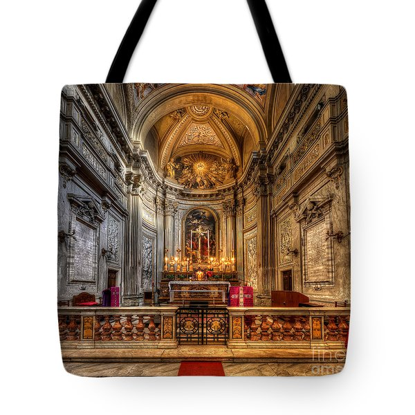 San Vincenzo Trevi Tote Bag by Yhun Suarez