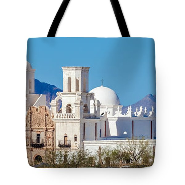 San Xavier Del Bac Mission Tote Bag