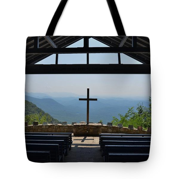 Tote Bag featuring the photograph Sanctuary by Bob Sample