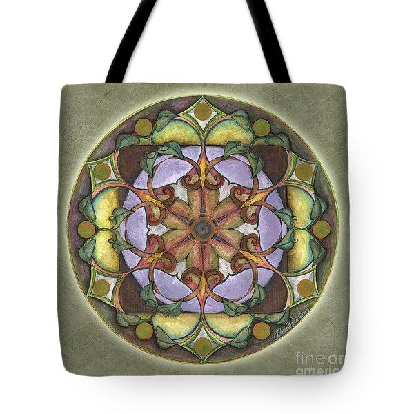 Sanctuary Mandala Tote Bag