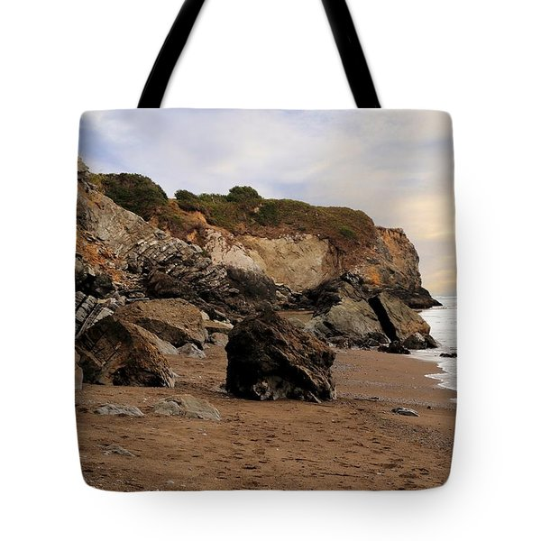 Sand And Rocks Tote Bag