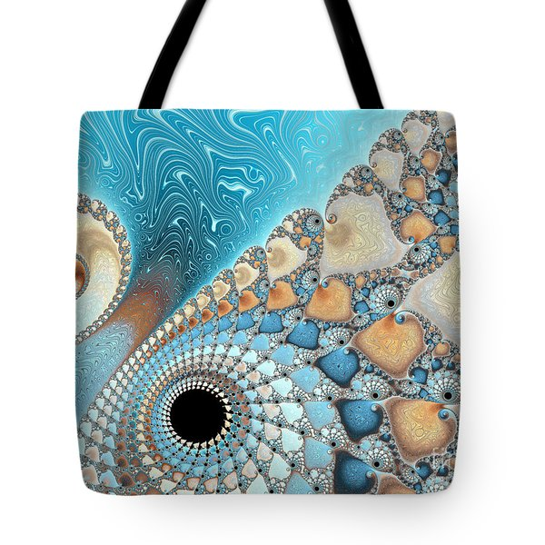 Sand And Sea Tote Bag by Heidi Smith