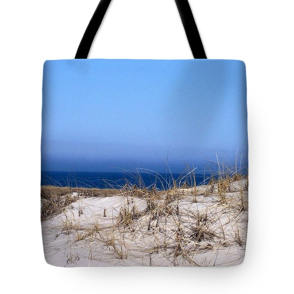 Sand And Sky Tote Bag by Catherine Gagne