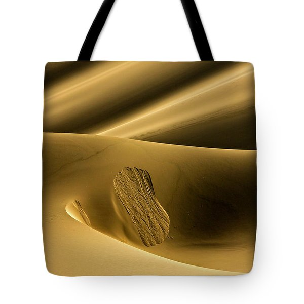 Sand Avalanche Tote Bag by Michael Cinnamond