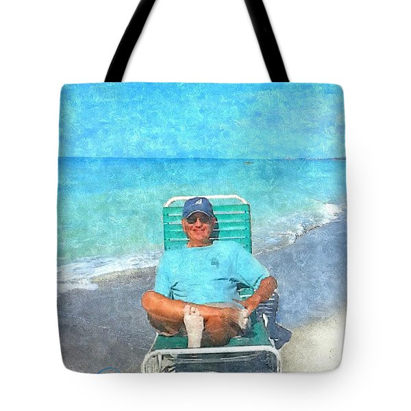 Sand Between Your Toes Tote Bag