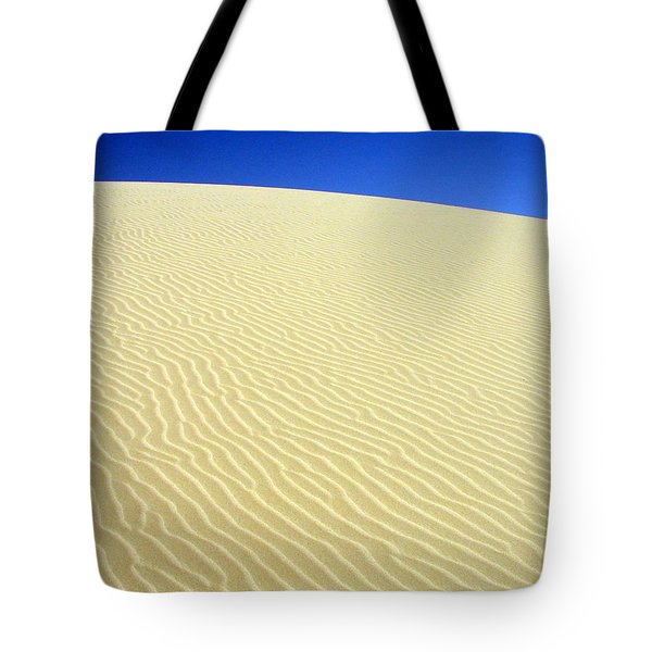 Tote Bag featuring the photograph Sand Dune by Ramona Johnston