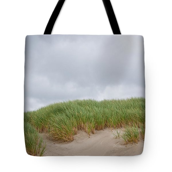 Sand Dunes And Grass Tote Bag