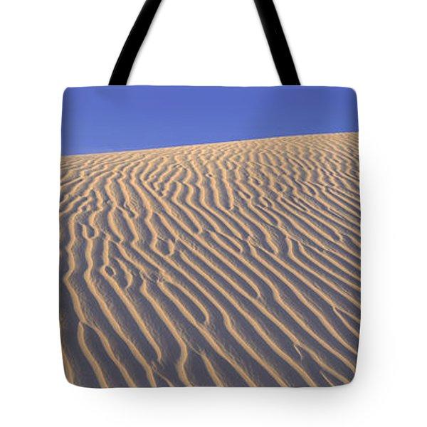 Sand Dunes Death Valley National Park Tote Bag