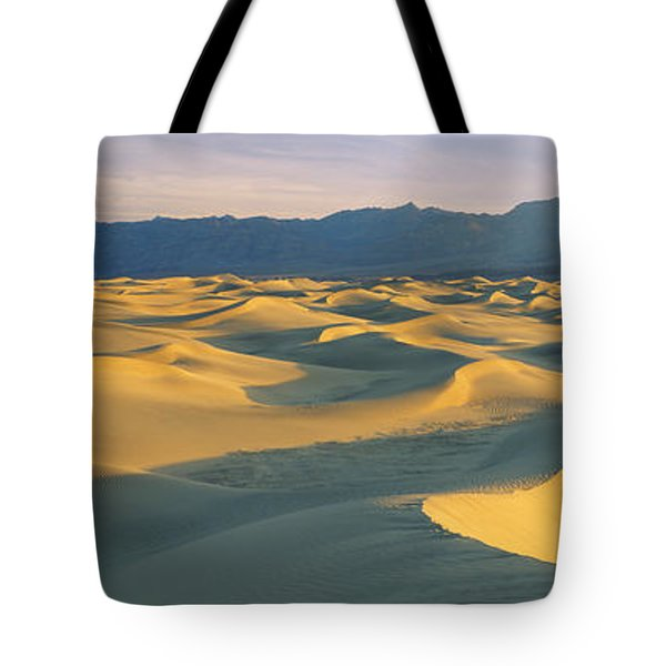 Sand Dunes In A Desert, Grapevine Tote Bag