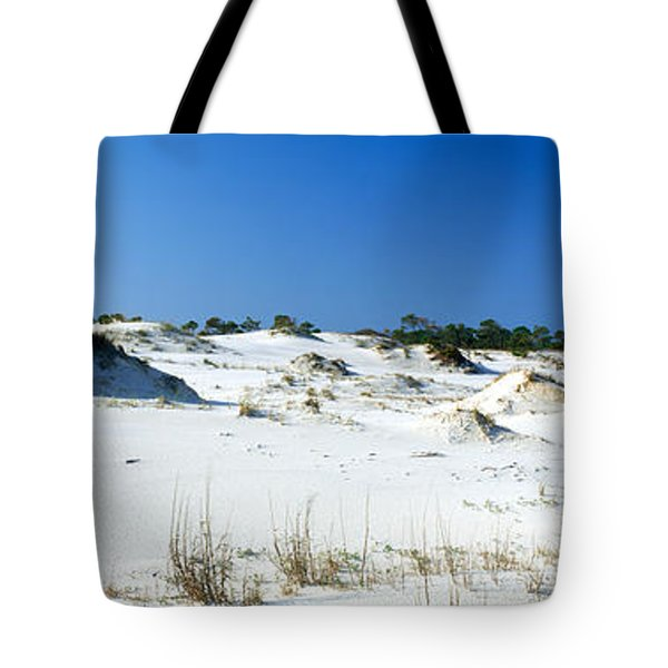 Sand Dunes In A Desert, St. George Tote Bag by Panoramic Images