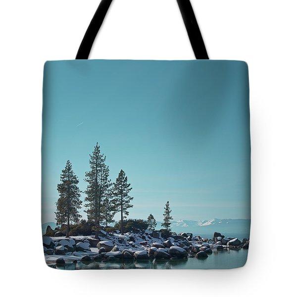 Sand Harbor-lake Tahoe Tote Bag by Kim Hojnacki