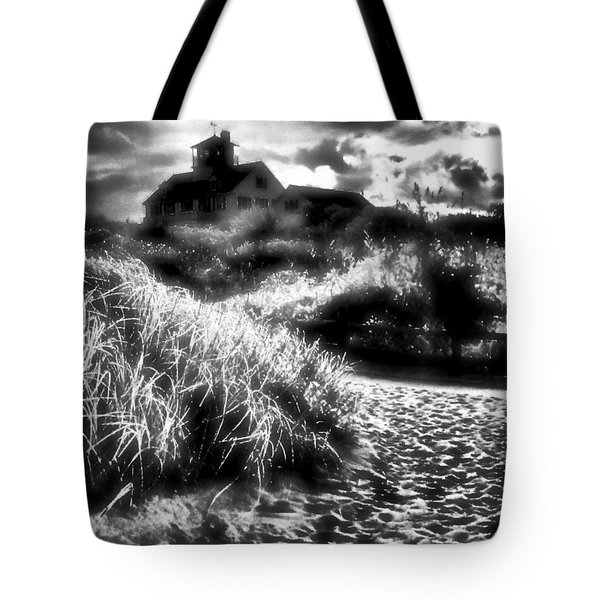 Tote Bag featuring the photograph Sand In Ma Shoes by Robert McCubbin