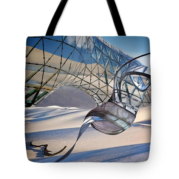Sand Incarnations With Dali Tote Bag