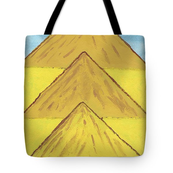 Sand Mountains Tote Bag by Tracey Williams