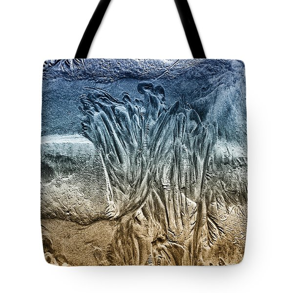 Tote Bag featuring the photograph Sand Patterns by Geraldine Alexander