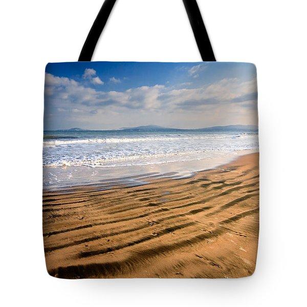 Sand Waves Tote Bag by Evgeni Dinev