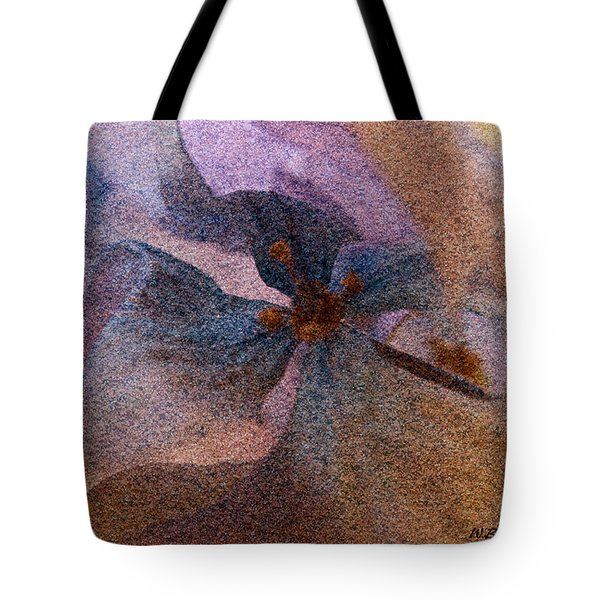 Tote Bag featuring the photograph Sandflower 2 by WB Johnston