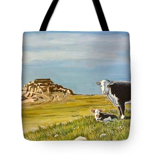 Sandhills Spring Tote Bag