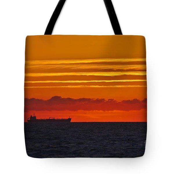 Sandown Sunrise Tote Bag