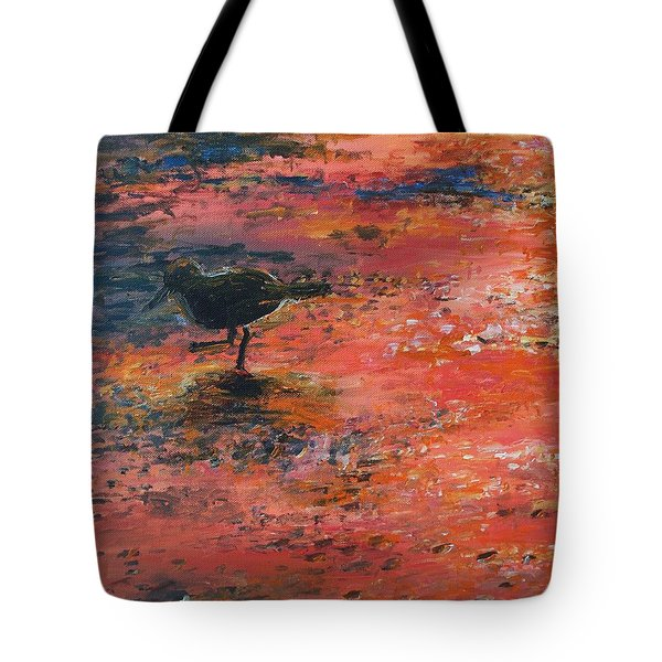 Sandpiper Cape May Tote Bag by Eric  Schiabor