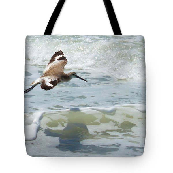 Sandpiper Flight Tote Bag