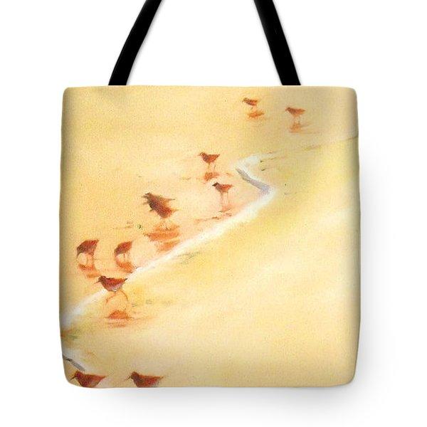 Sandpiper Promenade Tote Bag
