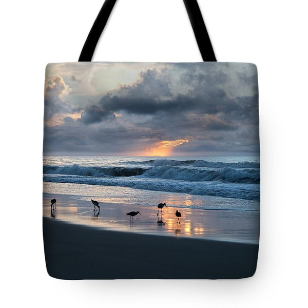 Sandpipers In Paradise Tote Bag