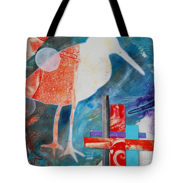 Sandpipers On The Shore Tote Bag