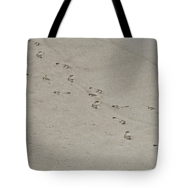 Sandprints Tote Bag