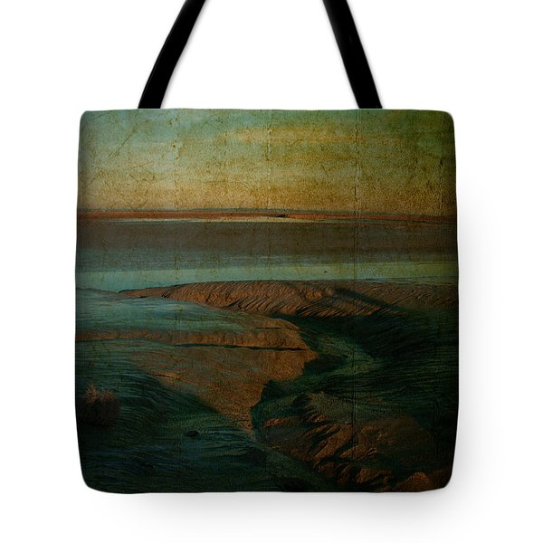 Tote Bag featuring the photograph Sands At Mount St Michael by Karo Evans