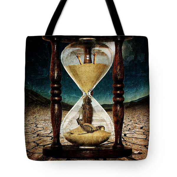 Sands Of Time ... Memento Mori  Tote Bag