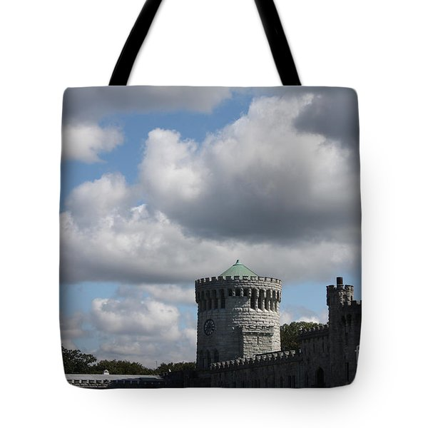 Tote Bag featuring the photograph Sands Point Castle by John Telfer