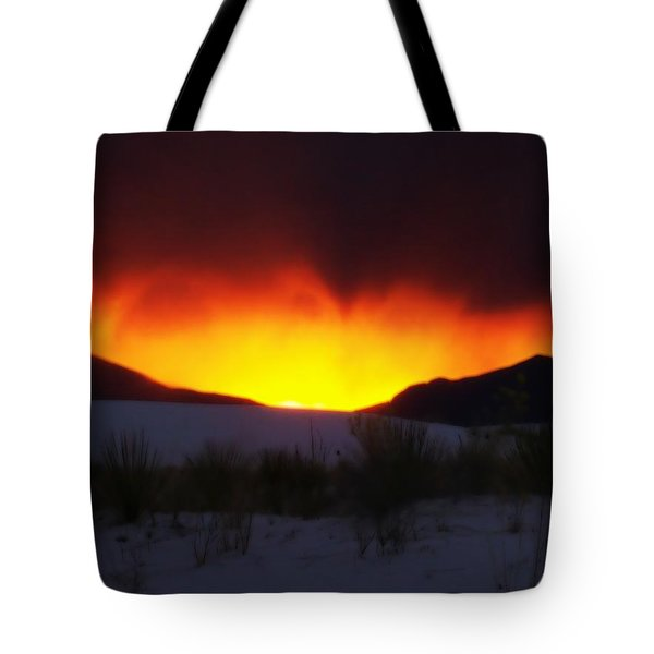 Sands Sunset  Tote Bag