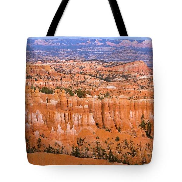 Sandstone Hoodoos Bryce Canyon Natl Park Tote Bag