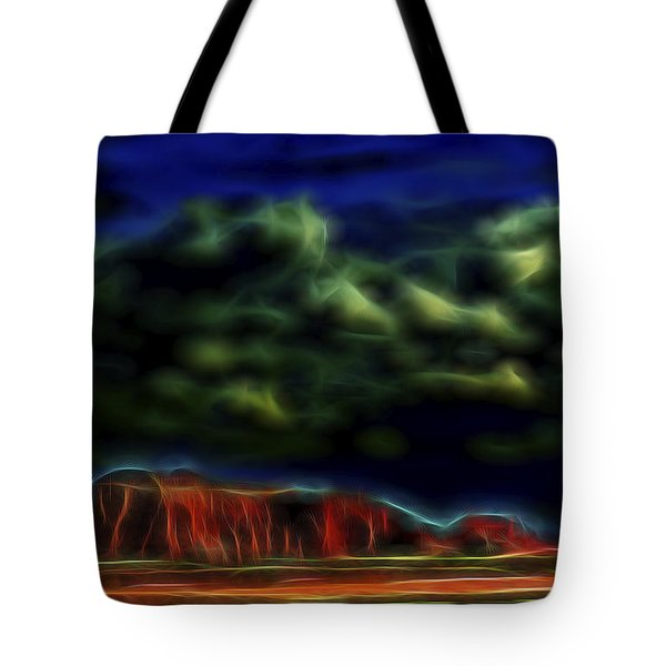 Sandstone Monolith 1 Tote Bag by William Horden