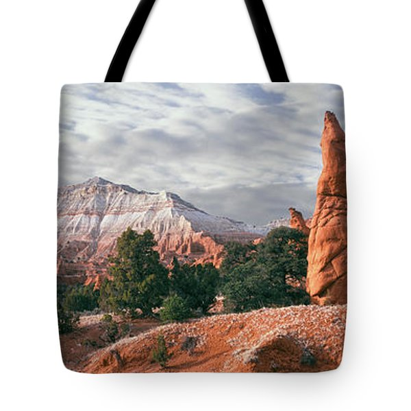 Sandstone Rock Formations, Kodachrome Tote Bag