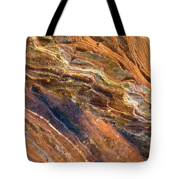 Sandstone Tapestry Tote Bag by Mike  Dawson