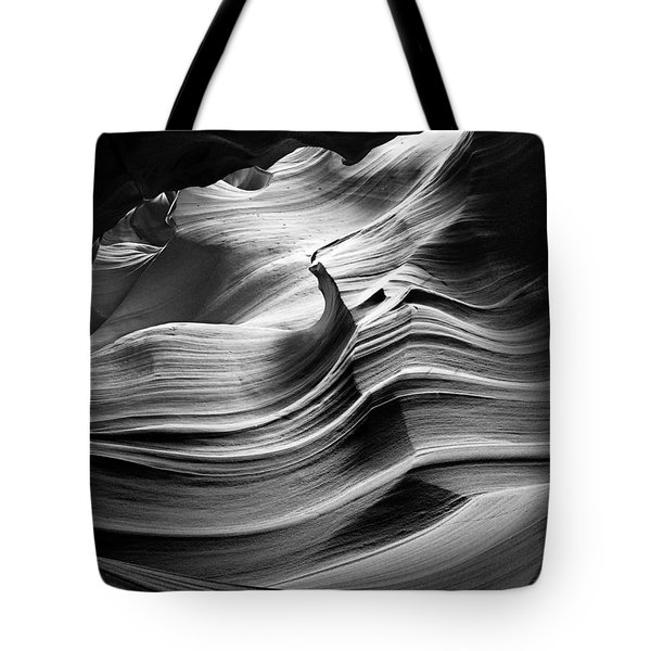 Sandstone Wave Tote Bag
