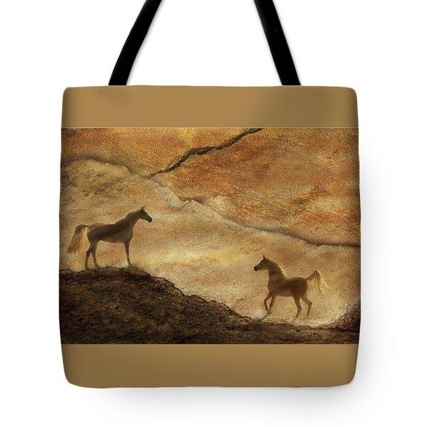 Sandstorm Tote Bag